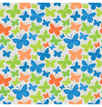 Butterfly pattern vector image vector image