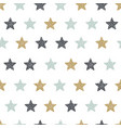 childish seamless pattern with stars creative vector image vector image
