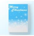 Christmas hollyday card vector image vector image