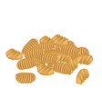 Delicious Thai Caramelized Crisps vector image vector image