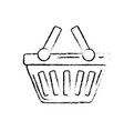 figure shopping basket icon symbol to buy vector image vector image
