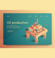 Is written oil production isometric