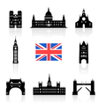 London England Icon vector image