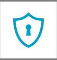 shield lock concept icon logo vector image