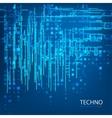 Techno 5 vector image