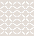 white and beige geometric seamless pattern vector image vector image