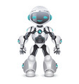 artificial intelligence robot technology vector image vector image
