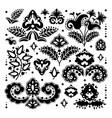 ethnic tatar oriental ornament elements ill vector image vector image