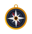 navigation compass icon vector image