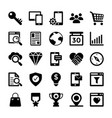 seo and digital marketing glyph icons 4 vector image vector image