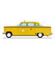 yellowcab vector image vector image