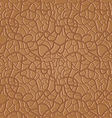 brown seamless leather pattern - vector image