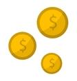 Money coins vector image