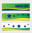 Brazil Flags concept design vector image
