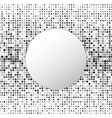 circle halftone dot abstract background vector image vector image