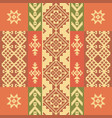 ethnic geometric ornament vector image vector image