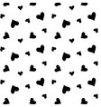 heart background seamless texture love background vector image vector image