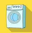 household washing machine dry cleaning single vector image
