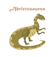 Jurassic reptile Dinosaur vector image vector image