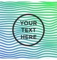 light minimalistic pattern vector image vector image