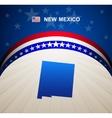 New Mexico vector image