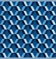 3d diamonds check blue pattern