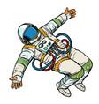 astronaut wants a hug vector image vector image