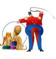 circus Tamer vector image vector image