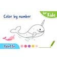 color picture copy number paint a picture a vector image