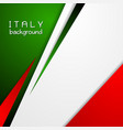 Corporate bright abstract background Italian vector image vector image