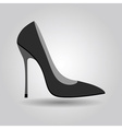 High heel icon vector image vector image