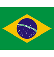 official national flag of Brazil vector image