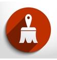 paintbrush web icon vector image