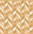 zigzag pattern seamless background golden vector image