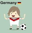 germany national football team businessman happy vector image