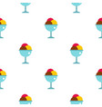 balls of ice cream in a cup pattern seamless vector image vector image