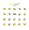 easy icons 37d delivery vector image vector image