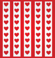 heart icons set hand drawn icons and for vector image vector image