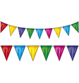 party flags vector image