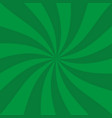 retro green ray background in vintage style vector image vector image