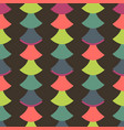 simple seamless pattern with retro design vector image