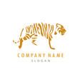 tiger logo 2 vector image