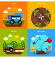 Agriculture Concept Set vector image vector image