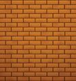 brick pattern vector image vector image