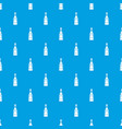 champagne bottle pattern seamless blue vector image vector image