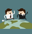 cooperative business vector image