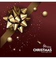 Elegant Merry Christmas or Happy New Year vector image