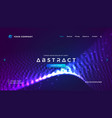 futuristic and technology websites background vector image vector image