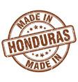 made in honduras vector image vector image