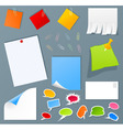 office set vector image